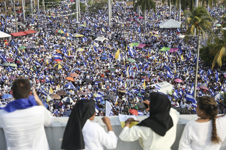Suman 58 muertos por protestas en Nicaragua