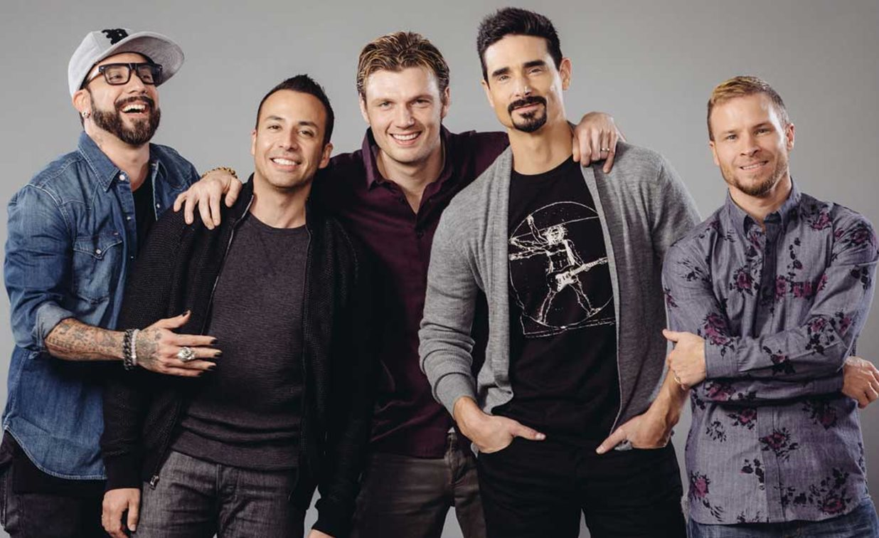 Los Backstreet Boys se disfrazan de Spice Girls