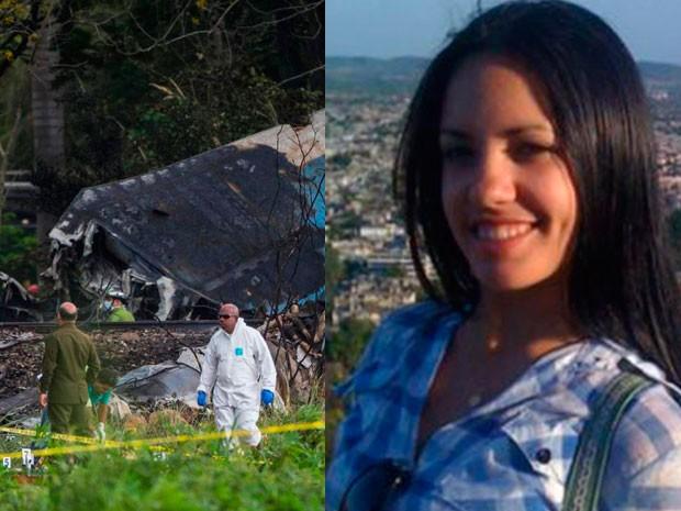 Murió una de las dos sobrevivientes de la tragedia aérea en Cuba