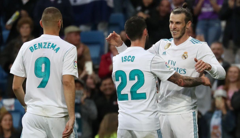 Real Madrid goleó al Celta en la penúltima jornada de la Liga