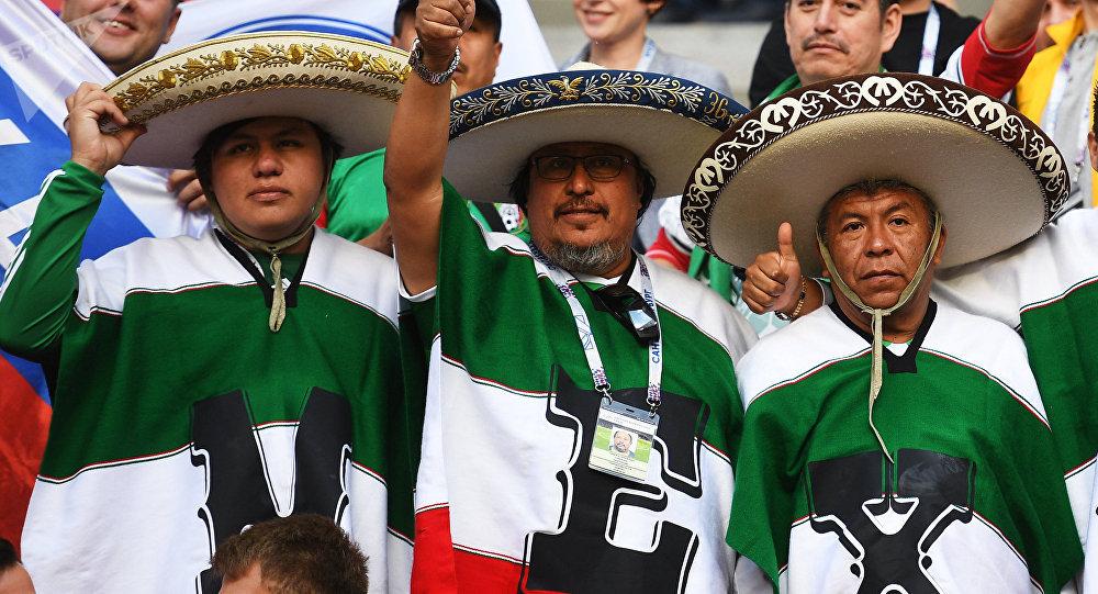 Aficionados de México ´provocan´ un accidente en Rusia