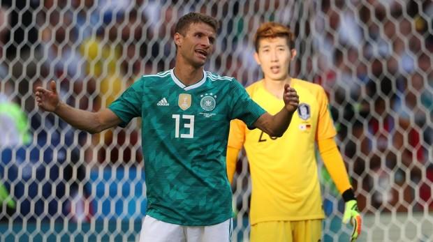Joachim Low aseguró que Alemania no merecía pasar a octavos de final