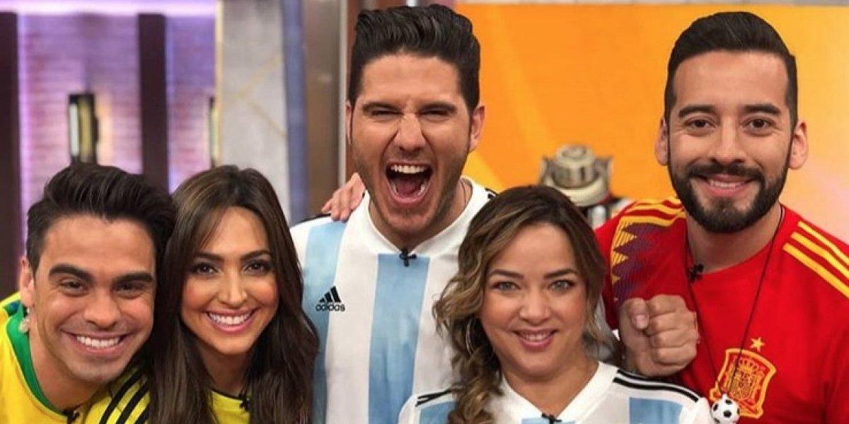 Telemundo suspende a comunicadora dominicana y a su compañero