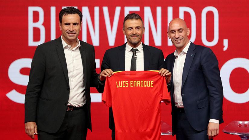 Luis Enrique asumió en España y adelantó cambios