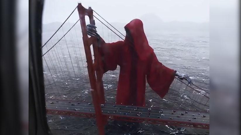 La Espeluznante Figura Que 39 Vigila 39 El Golden Gate De San