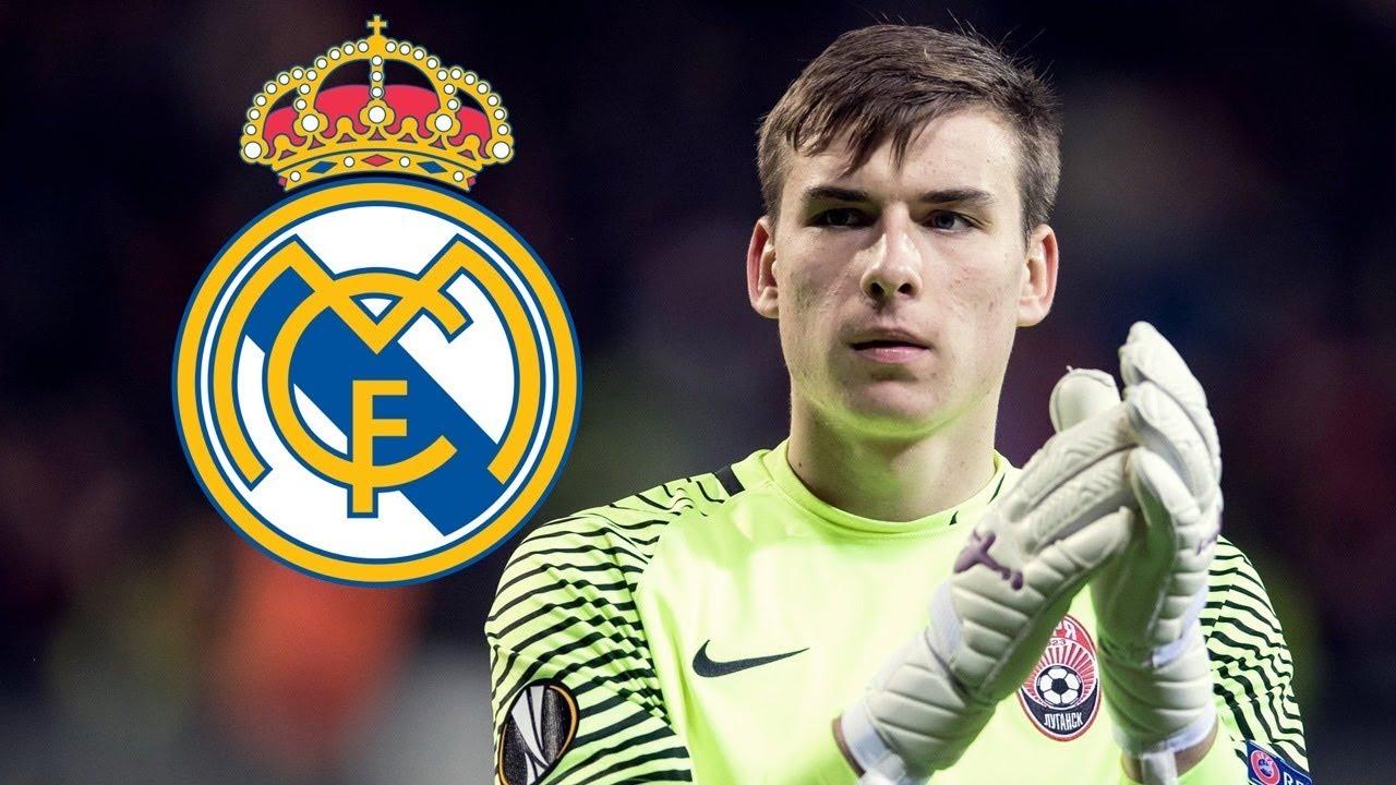 Oficial: el lunes se presentará al nuevo arquero del Real Madrid