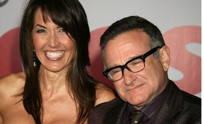 La primera esposa de Robin Williams confesó que le dejó serle infiel