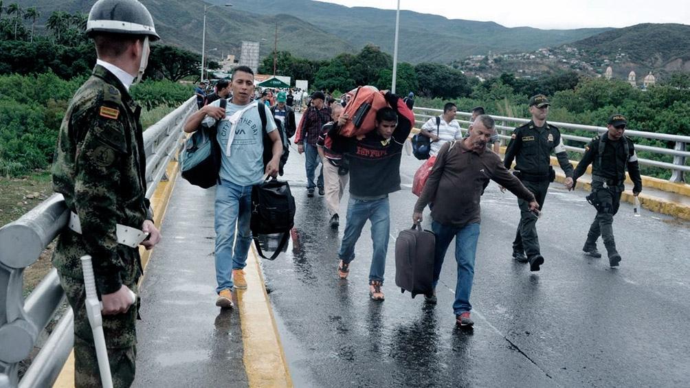 Éxodo de venezolanos suma 2.3 millones a junio 2018