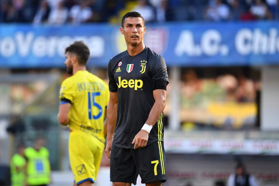 ¡Cristiano ya se estrenó como goleador de la Juventus!