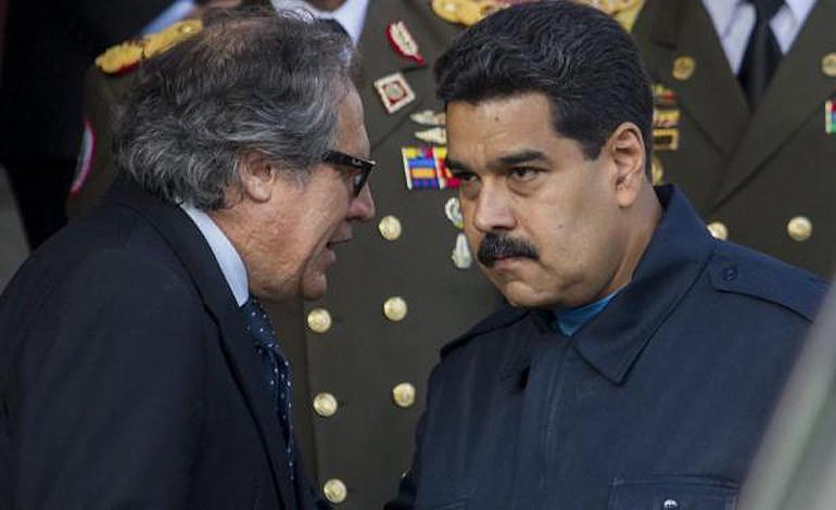 OEA le pone la lupa al 'atentado' contra Maduro
