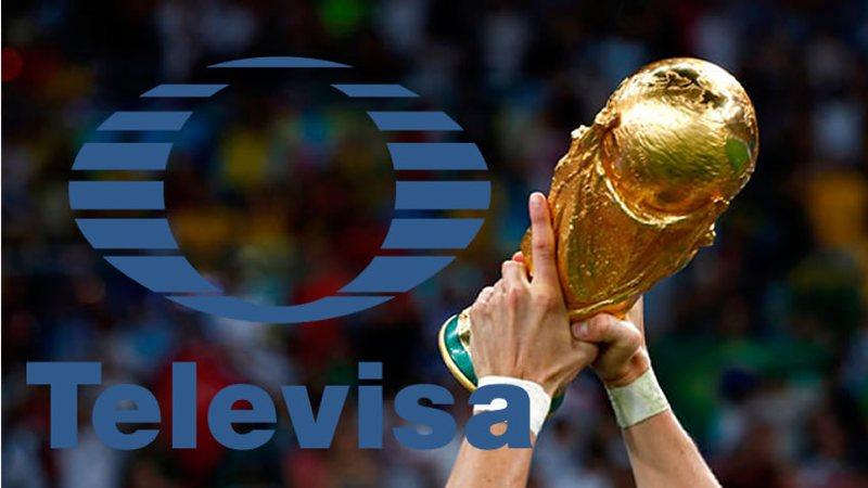 Televisa niega sobornos para obtener derechos del Mundial