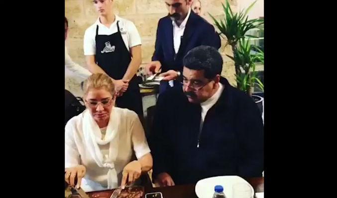 Banquetazo de Maduro en restaurante del chef del meme indigna a venezolanos