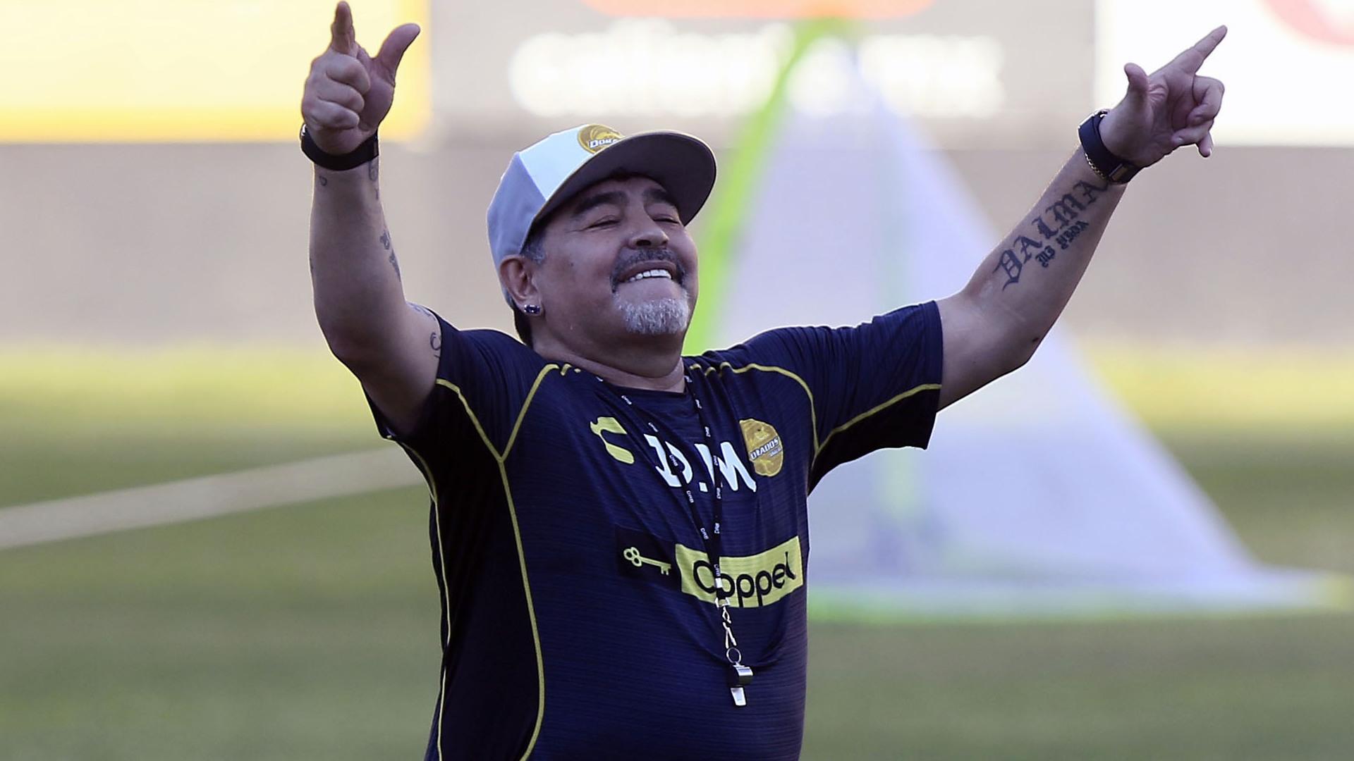 Diego Maradona le quedó mal a Cristian Campestrini