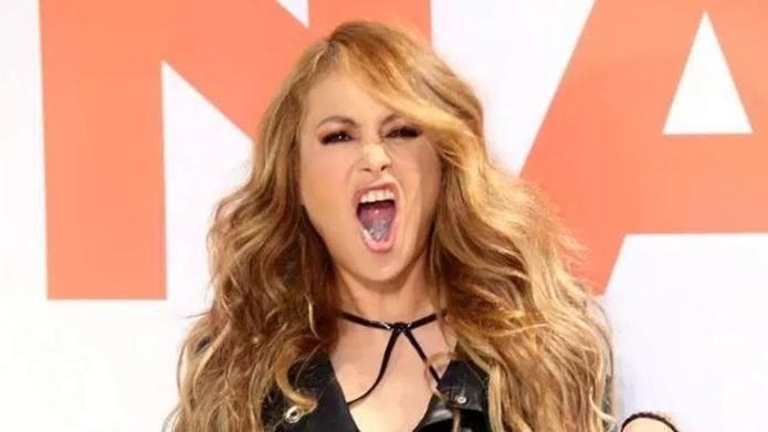 ¿Qué le pasó en el rostro a la cantante Paulina Rubio?