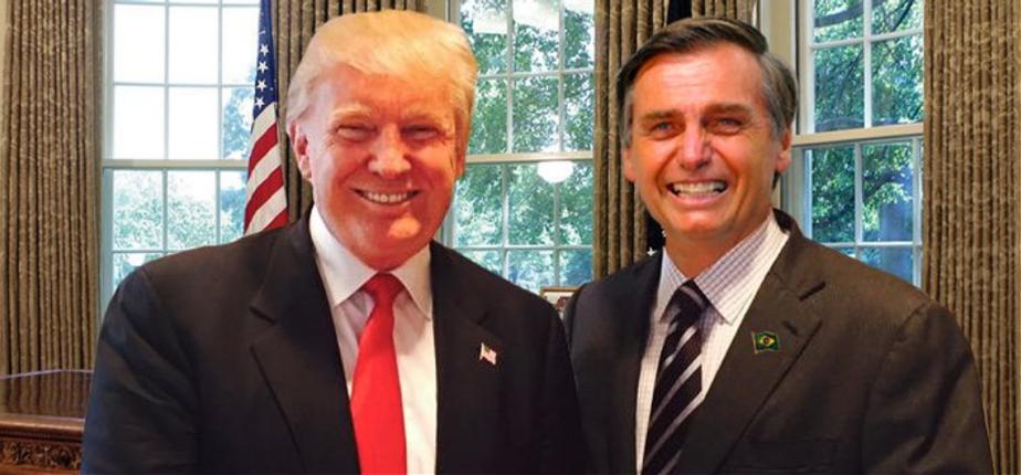 Resultado de imagen para bolsonaro trump