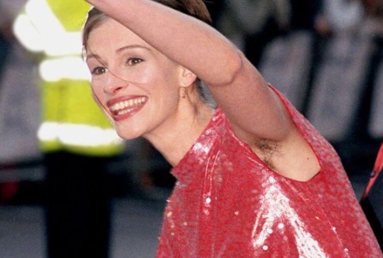 La verdad detrás de la foto sin depilar de Julia Roberts