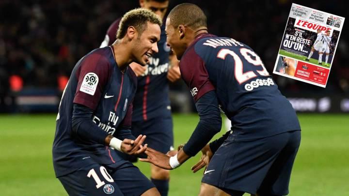 L'Equipe: el PSG ya piensa en la venta de Mbappé o Neymar