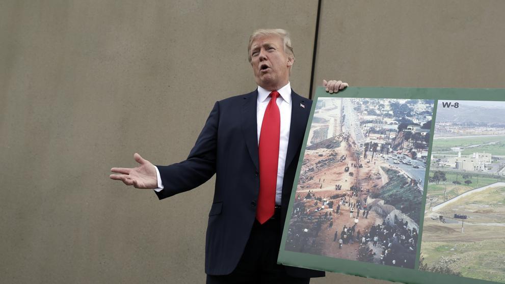 Voluntarios recaudan $4 millones en cuatro días para construir muro de Trump
