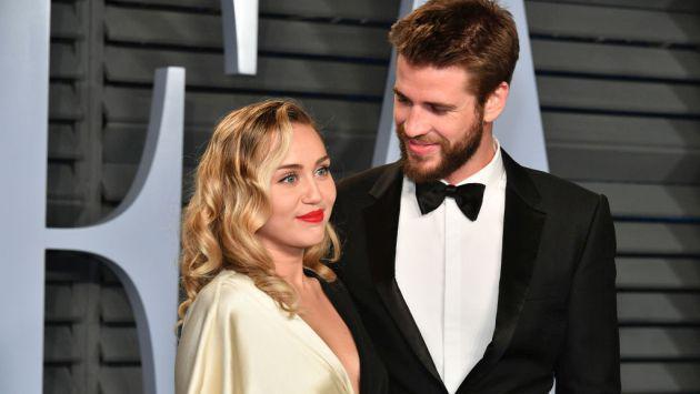 Filtran fotos de la boda secreta de Miley Cyrus y Liam Hemsworth